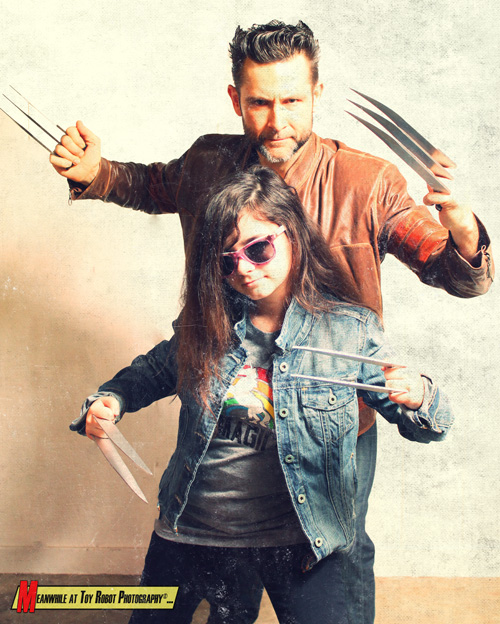 Logan And X-23 Cosplays