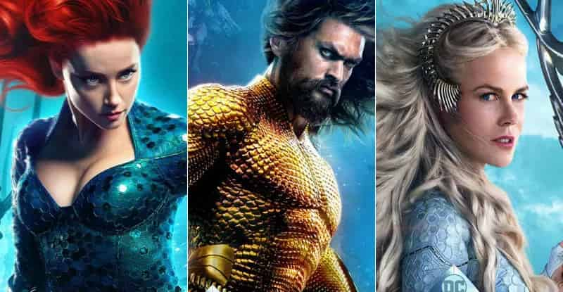 Aquaman BTS Video