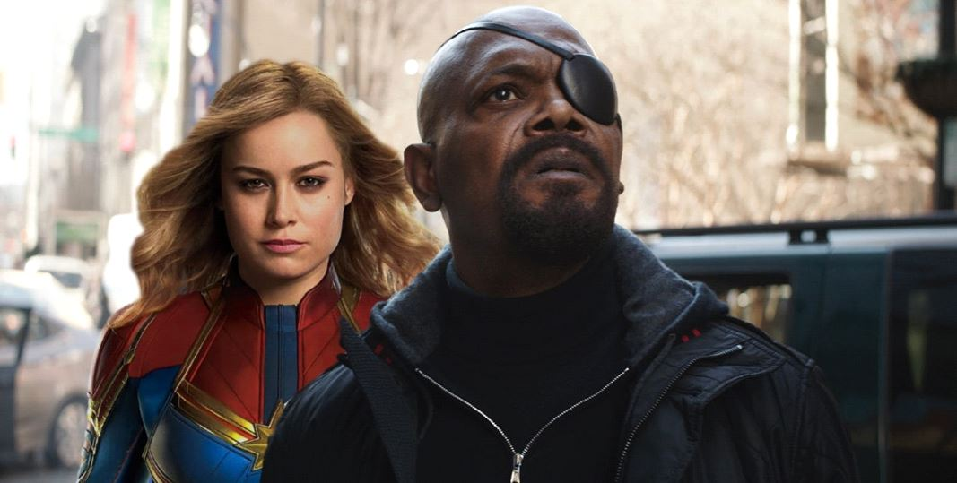 Captain Marvel MCU Nick Fury