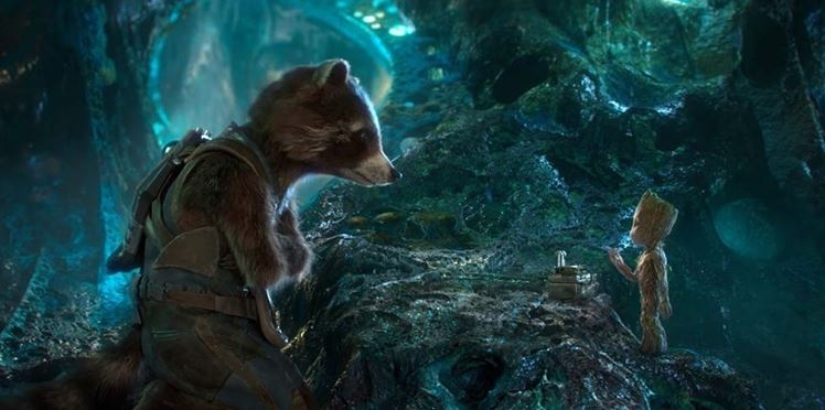 Rocket & Groot Mini-Series Disney Plus