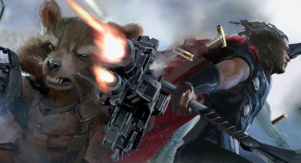 Infinity War Concept Art Thor Jarnbjorn
