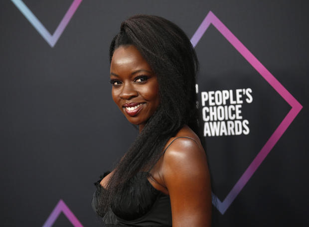 Black Panther Danai Gurira Wins The Best Action Star People's Choice Award