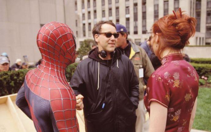 Stan Lee Spider-Man Director Sam Raimi