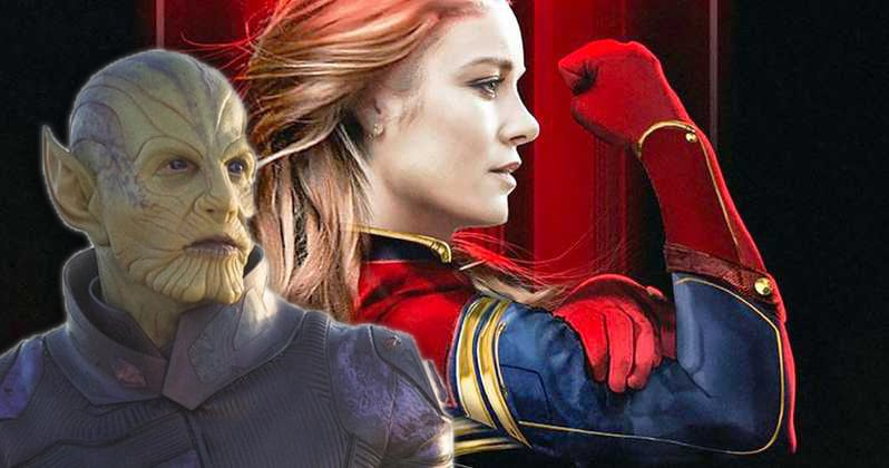 Captain Marvel Trailer Skrulls