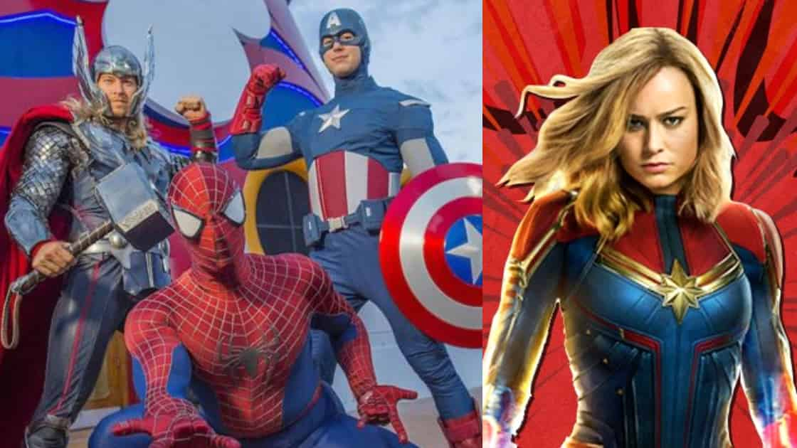 Photo of Captain Marvel in The Roster of MCU's Biggest Superheroes For Disney Cruise Lines