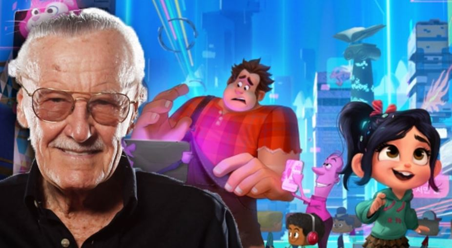 Photo of Stan Lee's Cameo in 'Ralph Breaks The Internet' Revealed