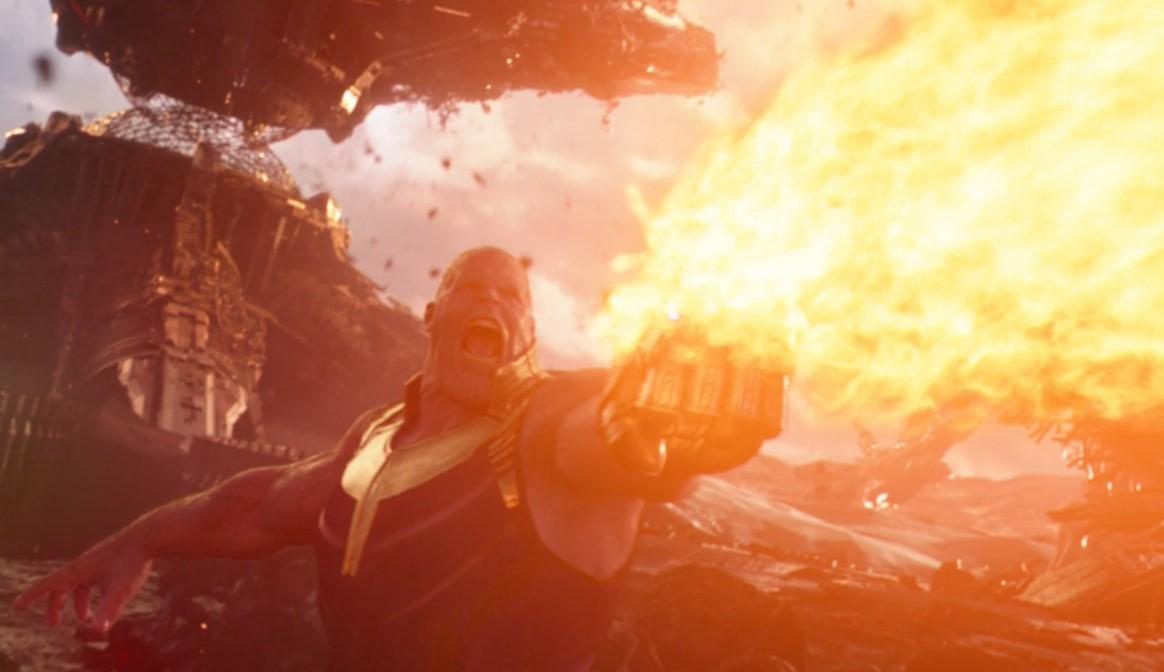 Infinity War Concept Art Thanos