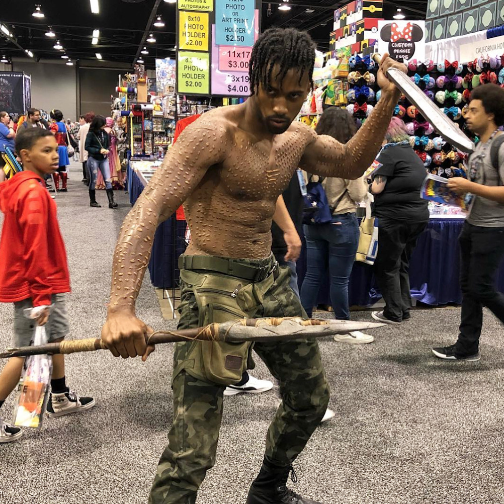 Erik Killmonger Cosplays