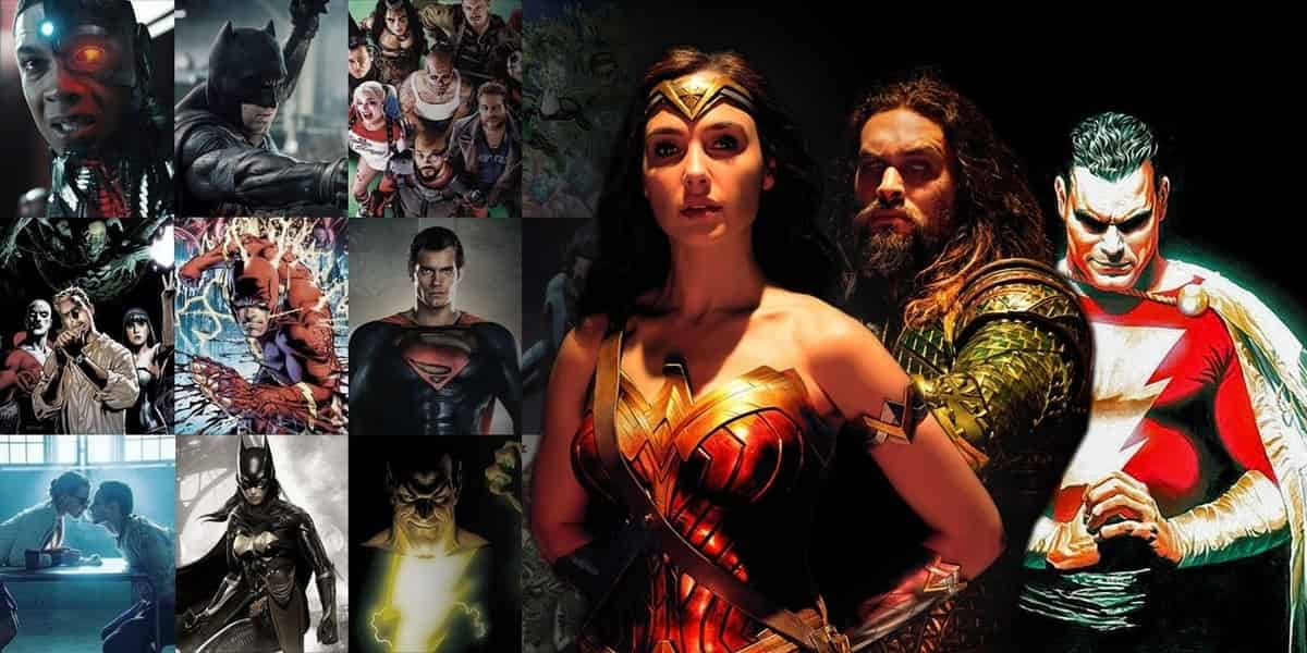 Photo of The New DCEU Slate of Upcoming Films Leaked?