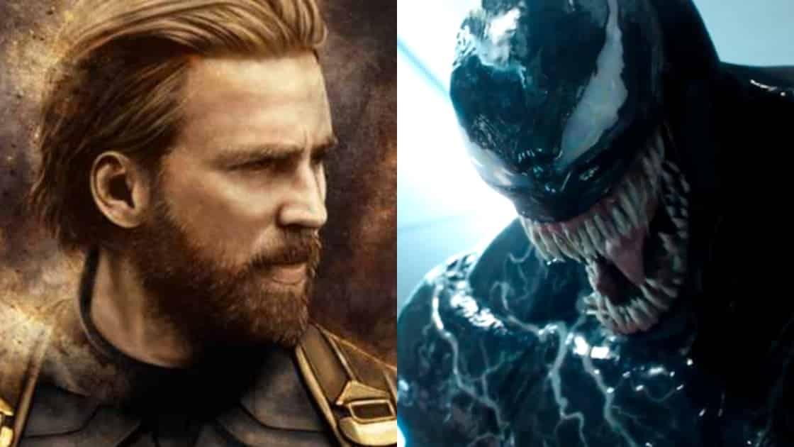 Captain America Venom Avengers