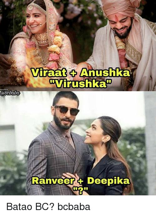Ranveer-Deepika Wedding Memes