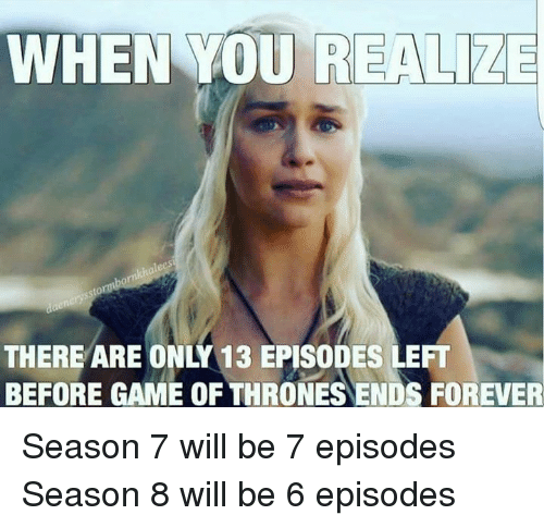 Game of Thrones Season 8 Memes