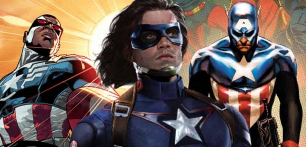 Captain America Falcon & Winter Soldier TV Show