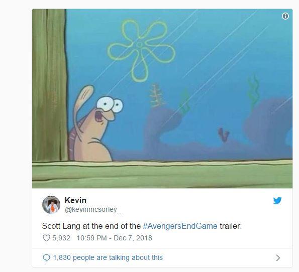 Avengers: Endgame Trailer Memes And Reactions