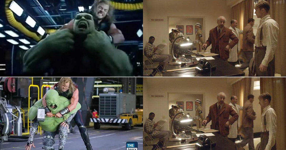 Photo of 25 Surprising Pictures of Avengers Characters Without The Special Effects