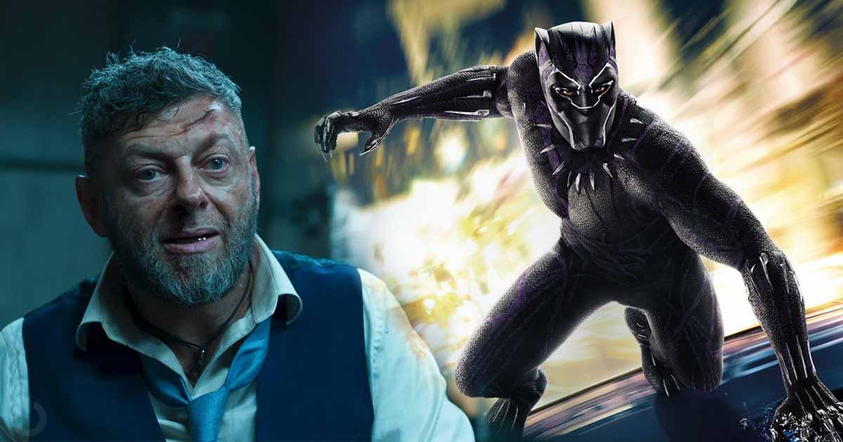 Black Panther Andy Serkis Chadwick Boseman