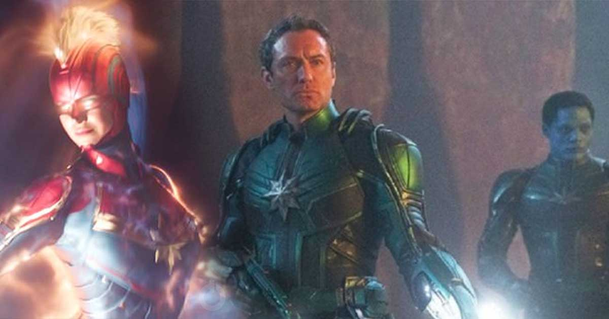 Photo of New Captain Marvel Promo Art Reveals Much Better Look at Starforce, Helmet & More