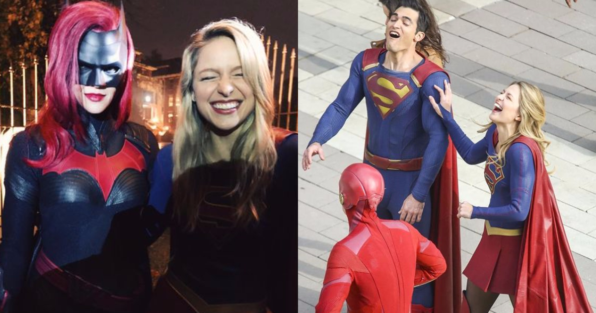 Photo of 25 Amazing Elseworlds Crossover Behind-The-Scene Images