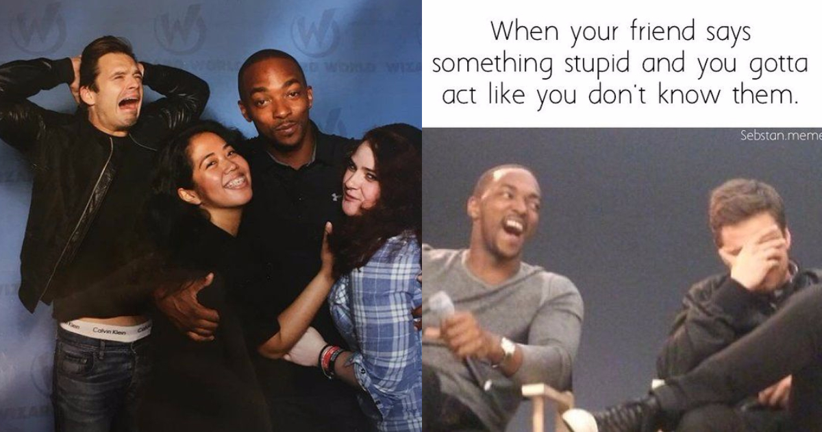 Photo of 25 Times Sebastian Stan And Anthony Mackie Proved They're Funniest of All