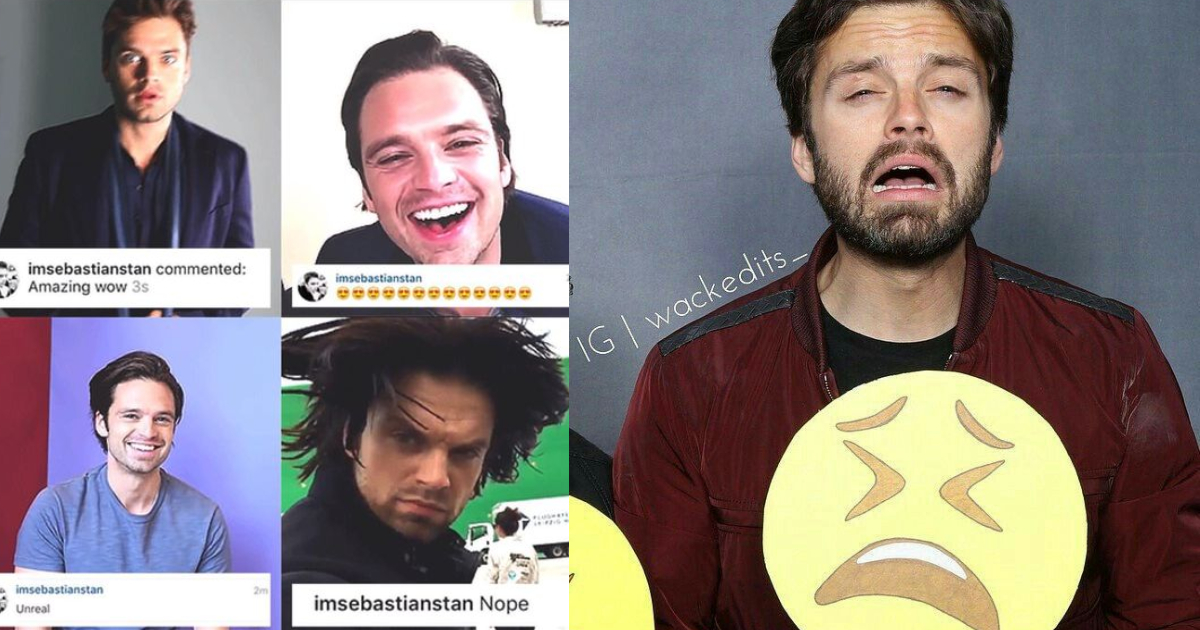 Photo of 27 Times Sebastian Stan Proved He's The King of Facial Expressions
