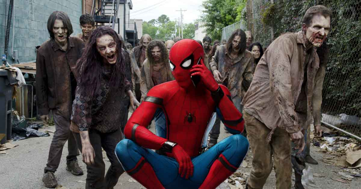 Spider-Man: Far From Home Zombies