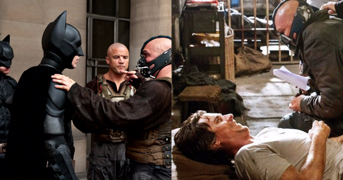 The Dark Knight Rises Behind-The-Scene