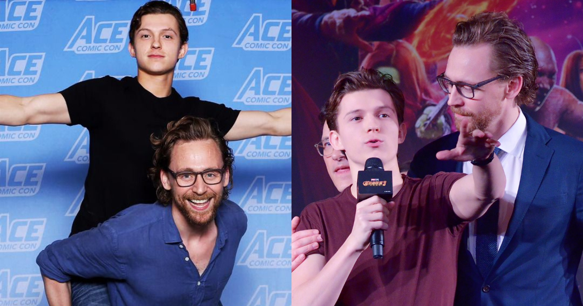 Photo of 25 Fantastic Pictures of Tom Holland And Tom Hiddleston Together