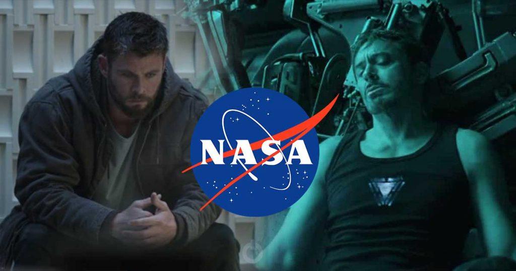 Avengers: Endgame Tony Stark NASA Robert Downey Jr.