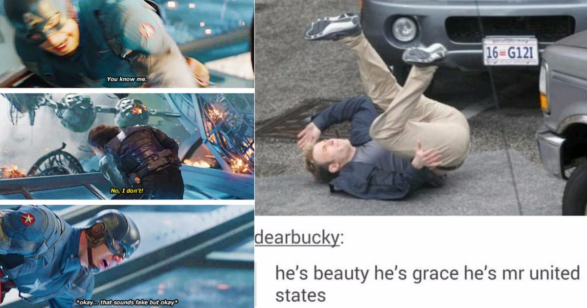 Photo of 30 Times Tumblr's Love For Captain America Went To Another Level