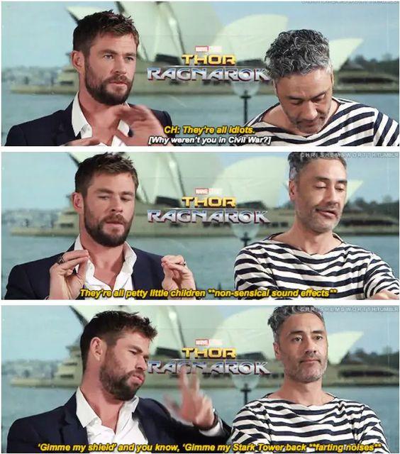 Thor Ragnarok Cast