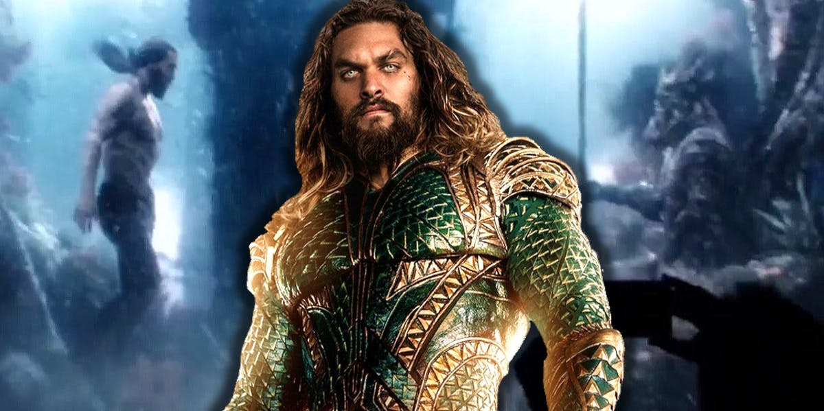 Photo of New 'Aquaman' BTS Video Reveals Before And After VFX Secrets