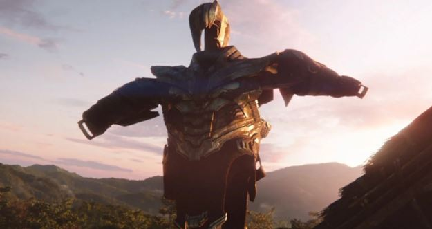 Avengers: Infinity War Thanos Snap
