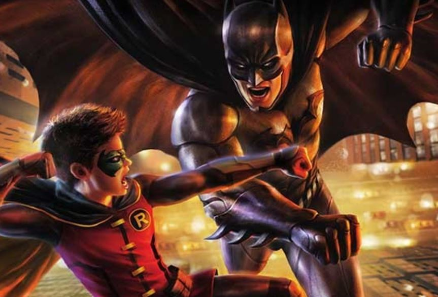 Batman vs Robin Warner Bros.
