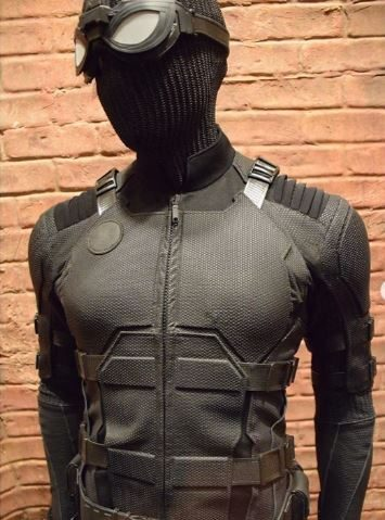 Spider-Man Black Stealth Suit Sony