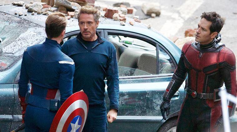 Avengers: Endgame Tony Stark Audi