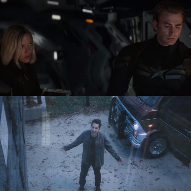 Avengers: Endgame Trailer Scott Lang