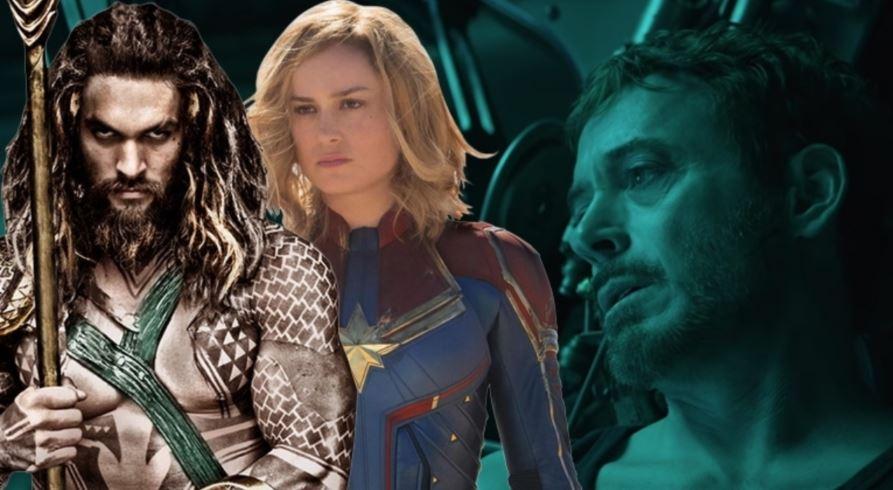 Avengers: Endgame Trailer Aquaman Captain Marvel