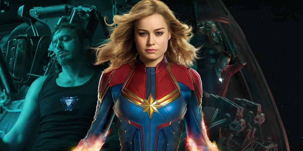 Captain Marvel Brie Larson Endgame