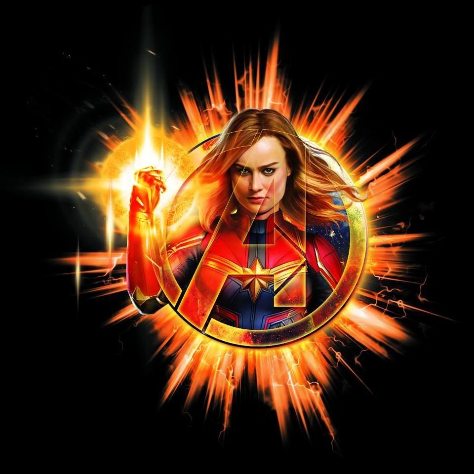 Avengers: Endgame Captain Marvel Thanos
