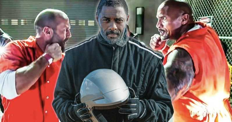 Photo of New Hobbs & Shaw BTS Photo Shows Idris Elba Wielding a Flamethrower