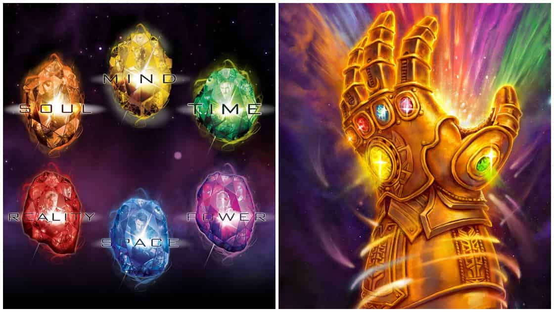 Marvel Weapons Thanos Avengers 4