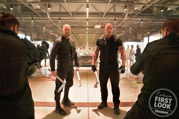 Hobbs And Shaw The Rock Jason Statham