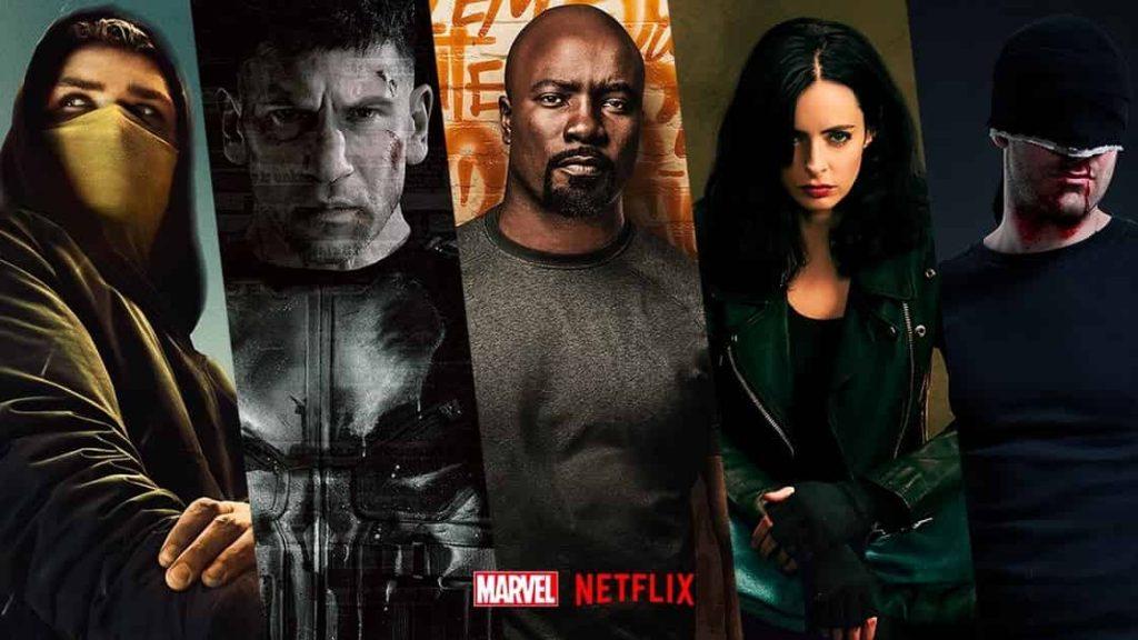 Marvel Netflix Shows Disney+