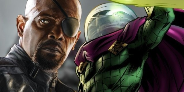 Spider-Man: Far From Home Mysterio Nick Fury