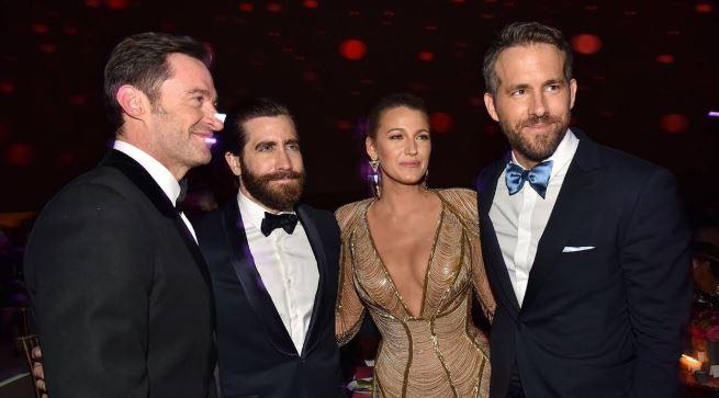 Hugh Jackman Ryan Reynolds Jake Gyllenhaal