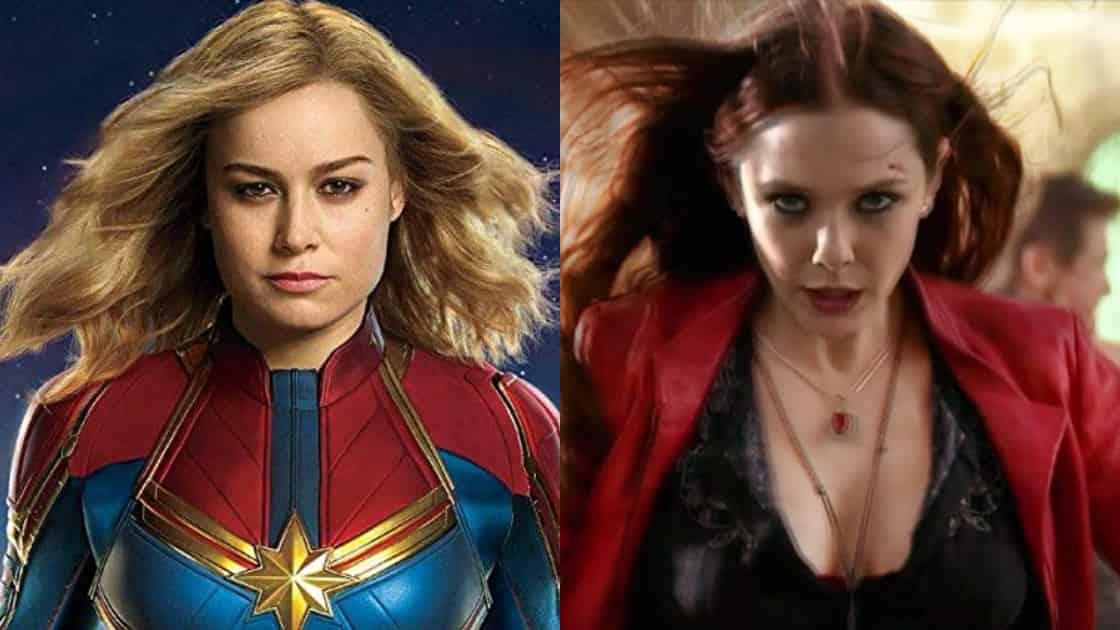 Captain Marvel VS Scarlet Witch