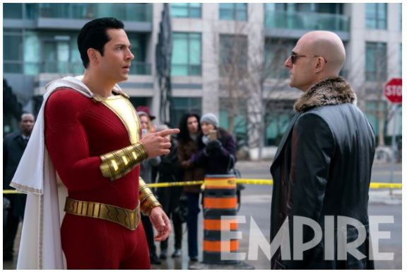 Shazam! Set Photo Doctor Sivana
