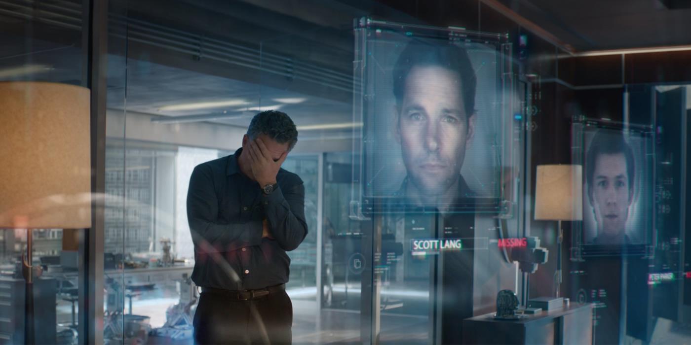 Avengers: Endgame Hulk Bruce Banner The Snap