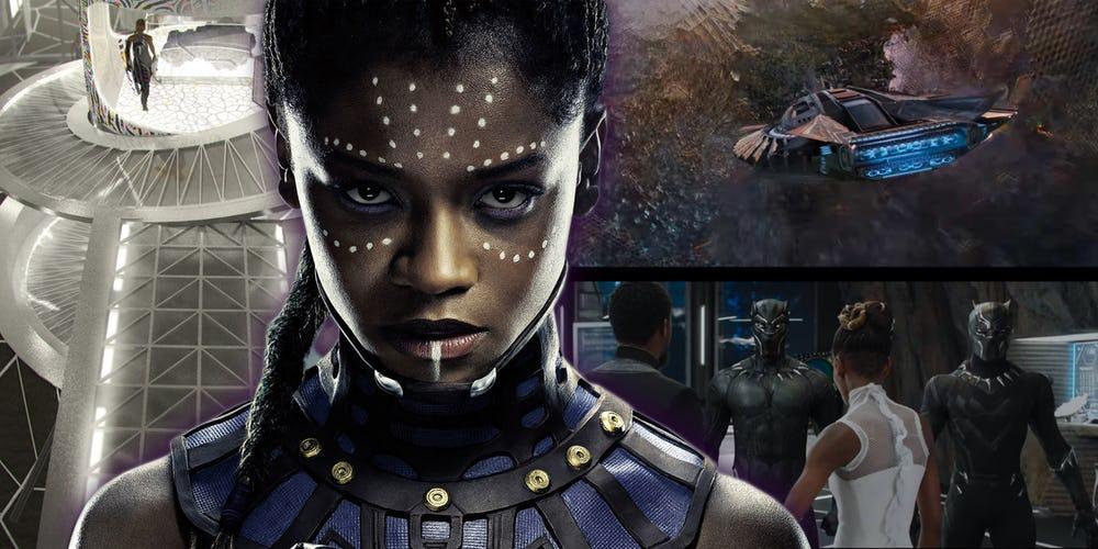Avengers: Endgame Shuri Infinity War