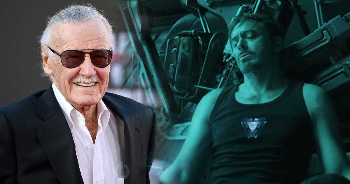 Avengers: Endgame Tony Stark Stan Lee Marvel